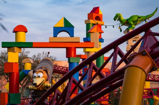 TOY STORY LAND AT WALT DISNEY WORLD RESORT (LAKE BUENA VISTA, Fla.) (Matt Stroshane, photographer)