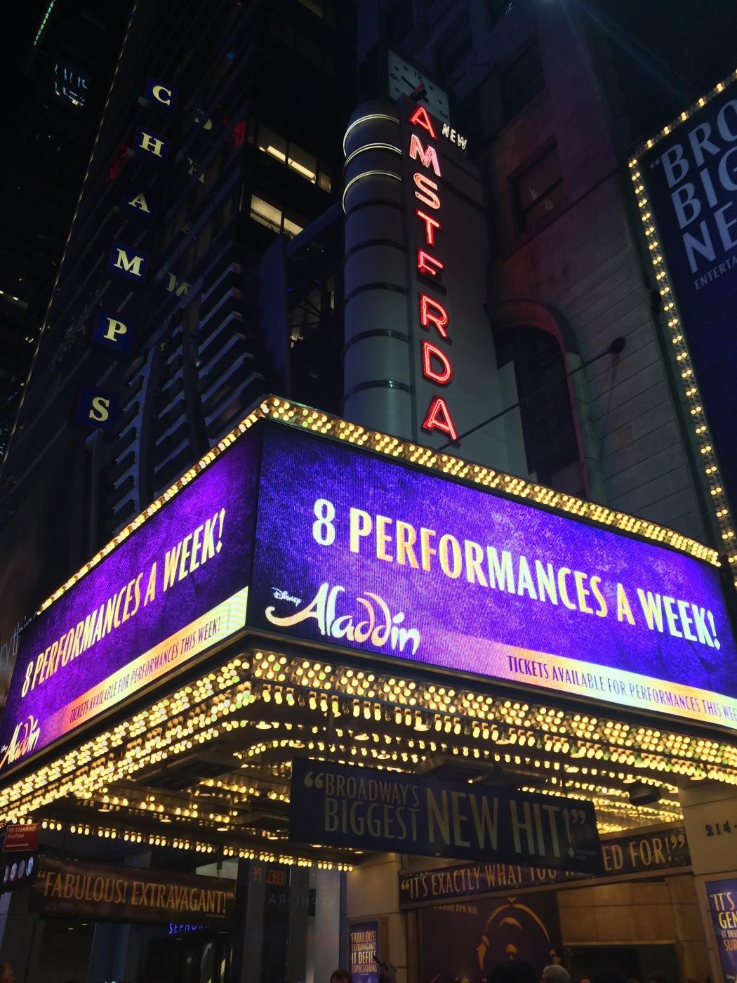 Aladdin ( Broadway )