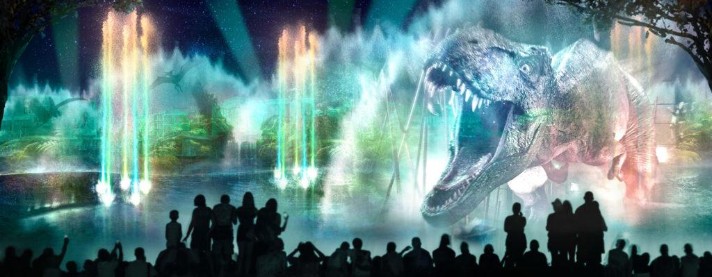 Universal Studios Orlando Se Renueva La Blue Kombi Junglas tropicales llenas de dinosaurios prehistóricos. universal studios orlando se renueva